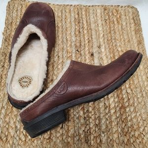 UGG Mules Women's Shoes 7 Brown Loafers